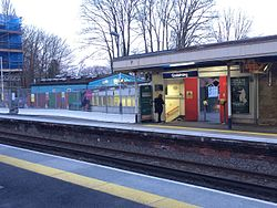 Godalming Railway Station platform.JPG