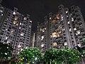 Godrej Anandam in night Side view.jpg
