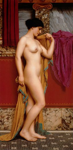 Godward-In the Tepidarium-1913 retouched
