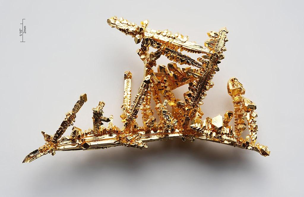 Zlaté krystaly
