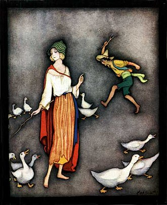 Jennie Harbour - Image: Goose girl