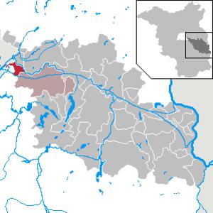 Gosen-Neu Zittau - Image: Gosen Neu Zittau in LOS