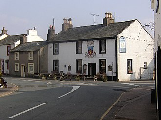 Gosforth, Cumbria - Image: Gosforth geograph.org.uk 41275