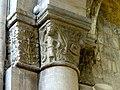 Gournay-en-Bray (76), collégiale St-Hildevert, bas-côté sud, chapiteau de l'arcade vers le transept, côté sud 2.jpg
