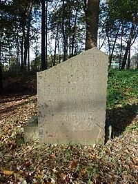 Grafsteen 1 Izaak Docters Joodse begraafplaats De Kemmer Oirschot.JPG