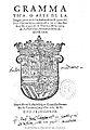 Grammatica o Arte de la lengua general de los Indios de los Reynos del Peru 1560.jpg