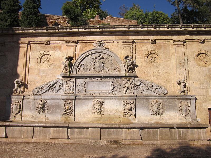 Granada-Fontein Karel V.jpg