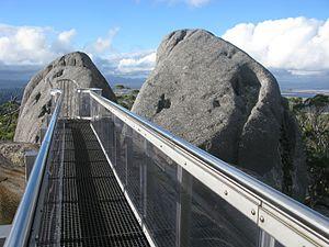 Porongurup National Park - Image: Granite Skywalk Castle Rock Porongurup NP III 2013