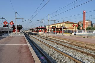 Granollers Centre railway station