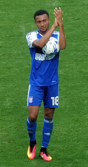 Grant Ward - Grant Ward on his Ipswich Town debut on the 6th August 2016 scoring a Hat-Trick.