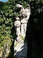 Grave with angel and boy statue, 2018 Dombóvár.jpg