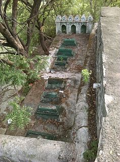 Graves at Nizamabad Fort