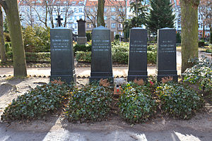 Brothers Grimm - The graves of the Brothers Grimm in Schöneberg, Berlin (St. Matthäus Kirchhof Cemetery)