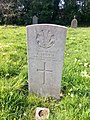 Gravestone of Private Albert Criddle of the Welsh Regiment at St. Mary's Church, Whitchurch, April 2020.jpg