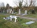 Graveyard of Barntown Church - geograph.org.uk - 1249992.jpg