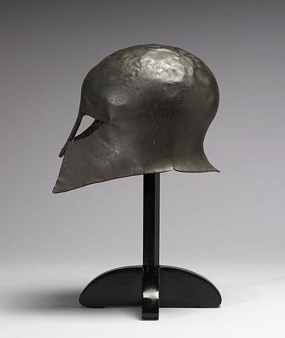 hoplite helmet (8th–6th century BC) - Greek Hoplite Armor