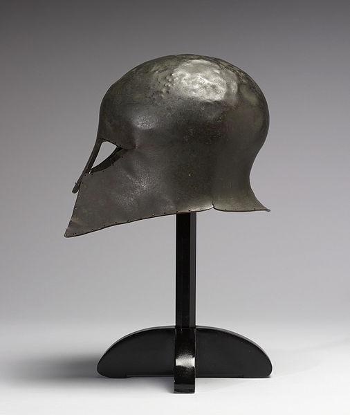 Corinthian Hoplite Helmet (Profile)