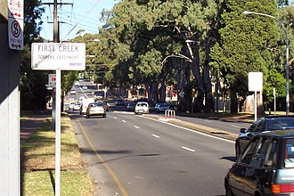 Greenhill Road, Adelaide - Image: Greenhillrd