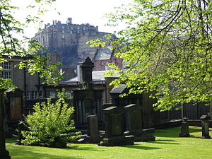 Covenanter - Greyfriars Kirkyard where the National Covenant was signed in 1638