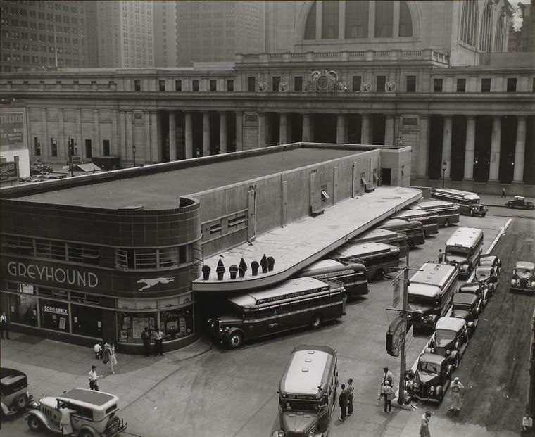 Greyhound Bus Terminal-34th Street- NYC...