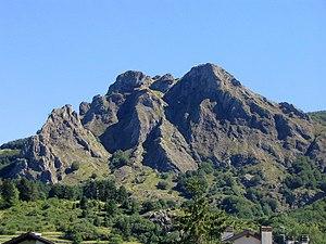 Aveto Natural Regional Park - Image: Groppo Rosso Santo Stefano d'Aveto