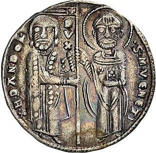 Enrico Dandolo Doge of Venice (1107-1205)