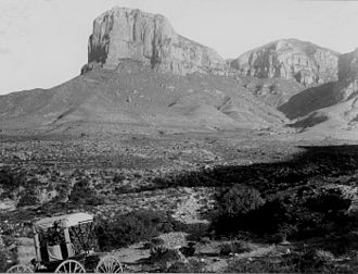 Guadalupe Mountains - Guadalupe Mountains in 1899