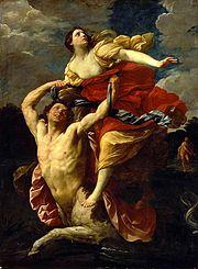 Graikų mitologijoje vienas iš kentaurų
