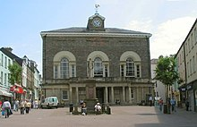 Guildhall Square, Carmarthen.jpg