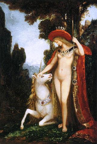 Gustave Moreau - The Unicorn (1884-1885).jpg