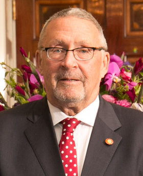 Guy Scott, the 12th vice-president and acting president of Zambia from Oct 2014 - Jan 2015, is of Scottish descent. Guy Scott.png