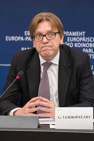 Alliance of Liberals and Democrats for Europe Party - Guy Verhofstadt   ALDE Party Leader