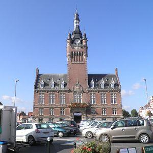 Merville, Nord - Image: Hôtel de Ville de Merville
