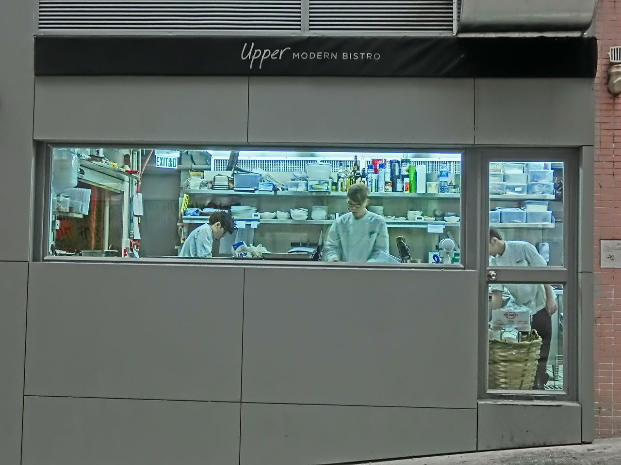 Restaurant Kitchen Stations file:hk 上環 sheung wan evening 差館上街 upper station street