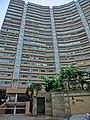 HK 北角半山 North Point Mid-Levels 雲景道 60 Cloud View Road 峰景大廈 Hilltop Mansion Apr-2014 entrance.JPG