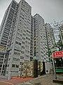 HK 北角半山 North Point Mid-Levels 雲景道 69-75 Cloud View Road 摩天大廈 Skycraper name sign n facade Apr-2014 entrance.JPG