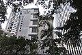 HK 灣仔 Wan Chai 堅尼地道 Kennedy Road evening 香港鄧鏡波書院 Hong Kong Tang King Po College HKTKPC Nov 2017 IX1 Hopewell Centre facade.jpg