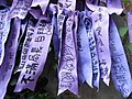 HK Admiralty Tamar Square Ribbon message 062 Purple 9-Sept-2012.JPG