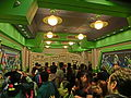 HK Disneyland 巴斯光年 星際歷險 Buzz Lightyear Astro Blasters visitors waiting room Oct-2013.JPG