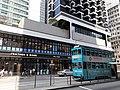 HK SYP 西環 Sai Ying Pun 德輔道西 Des Voeux Road West Bohemian House tram stop March 2020 SS2 20.jpg