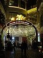 HK Wan Chai night Lee Tung Avenue Johnston Road entrance Dec-2015 DSC 008.JPG
