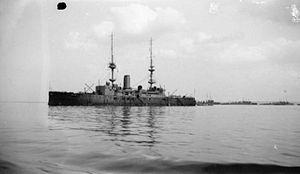 HMS Prince George at Sheerness 1919 IWM SP 851.jpg