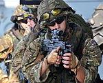 HMS Somerset Boarding Team Member During Exercise MOD 45153732.jpg