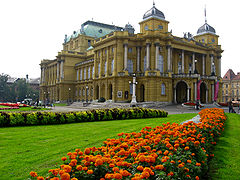 Kroatiska nationalteatern i Zagreb