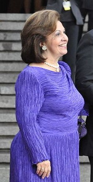Katherine, Crown Princess of Yugoslavia - Katherine at the celebrations of the wedding of Crown Princess Victoria of Sweden, 18 June 2010