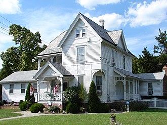 Dennisville, New Jersey - Image: H Chester 1898 Dennisville HD NJ