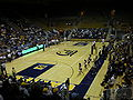 Haas Pavilion court from upper bleachers 2.JPG