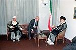 Hafez al-Assad visit to Iran, 1 August 1997 (12).jpg
