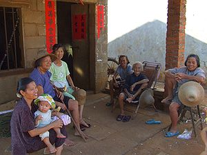 Hainan - Hainanese residents in the countryside