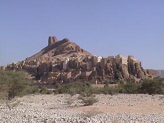 Hadhramaut Mountains - Image: Hajarin